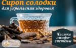 Корень солодки для очищения лимфы лечебные свойства и противопоказания